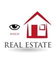 Real estate design home concept Property icon vector image vector image
