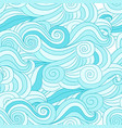 abstract wave pattern for your design vector image vector image