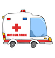 Ambulance Vehicle vector image