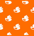 duck pattern seamless vector image vector image