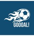 Football logo vector image vector image