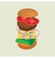 Hamburger or cheeseburger