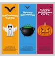 Invitation to a Halloween party vector image vector image