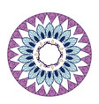 mandala decoration spiritual oriental mystical vector image vector image