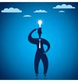 new ideas in businessmen vector image vector image