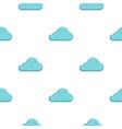 rainy cloud pattern flat vector image vector image