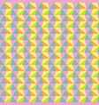 seamless abstract colorful triangle pattern vector image