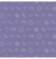 Seamless texture with Australian aboriginal art vector image vector image