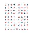 Set color icons of house system vector image vector image