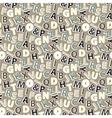 Letter pattern vector image