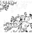 Floral abstract pattern 5 vector image