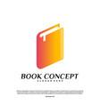 Book logo concept smart learning education logo