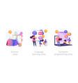 educational summertime activities for children vector image vector image