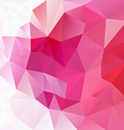 gradient pink magenta abstract polygon triangular vector image vector image