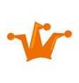 joker hat logo design template vector image vector image