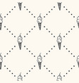 seamless pattern with monocrome ice cream vector image vector image