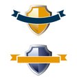 Shield ribbon icons vector | Price: 1 Credit (USD $1)