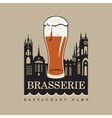 brasserie vector image vector image