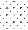 cupid icons pattern seamless white background vector image vector image