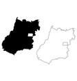 goias map vector image vector image