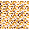 Happy Thanksgiving food seamless pattern vector image vector image
