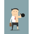Healthy lifestyle and work balance concept vector image