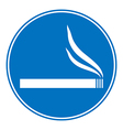 Sign smoking allowed vector image vector image