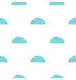 snow cloud pattern flat vector image vector image