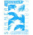 summer beach background in retro style vector image vector image