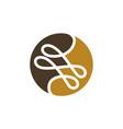 tailor thread logo design template vector image vector image