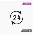 24-7 icon vector image vector image