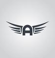 aviator symbol logo logotype theme vector image vector image
