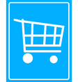 cart on wheels vector image