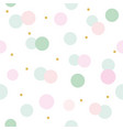 glitter confetti polka dot seamless pattern vector image vector image