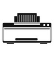 great printer icon simple style vector image vector image