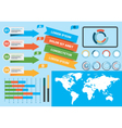 Infographics elements 2 vector image