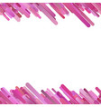 pink abstract repeating trendy gradient diagonal vector image vector image