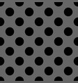 seamless dark pattern with black polka dots vector image vector image