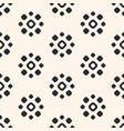 seamless pattern with flower shapes circles dots vector image vector image