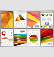 bright backgrounds and abstract concept vector image vector image