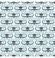 floral seamless pattern with thin white swirls vector image vector image