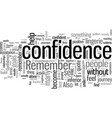 how to jump start your confidence immediately vector image vector image