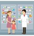 Pharmacist Woman Kid vector image vector image