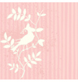 Pink Bird vector image