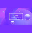 purple abstract background with a dynamic liquid vector image vector image