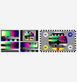 set tv no signal background screen color test
