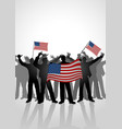 spirit a nation vector image vector image