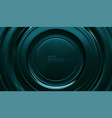 tidewater green radial background vector image