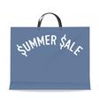 Shopping bag for summer sale vector image