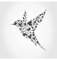 Birdie9 vector image vector image